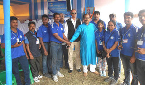 Pta_mr_arup_biswas_with_ham_team